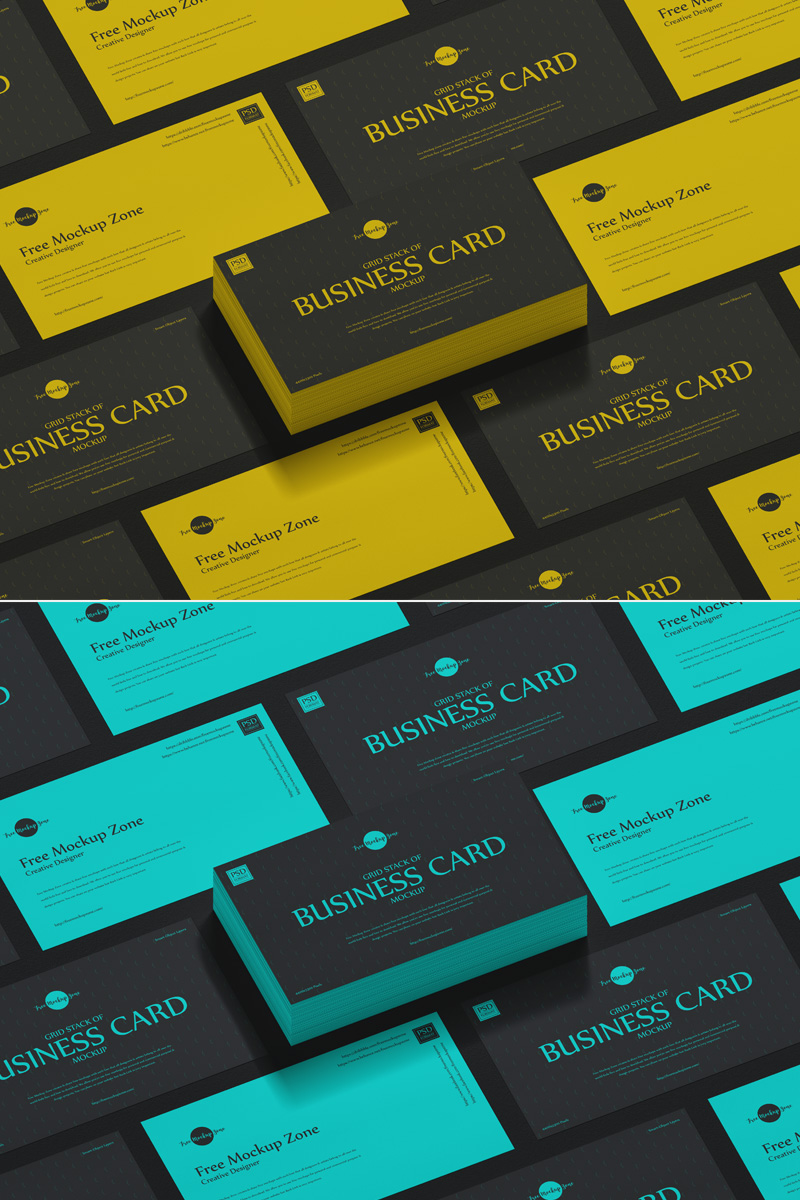 Free-Grid-PSD-Business-Card-Mockup