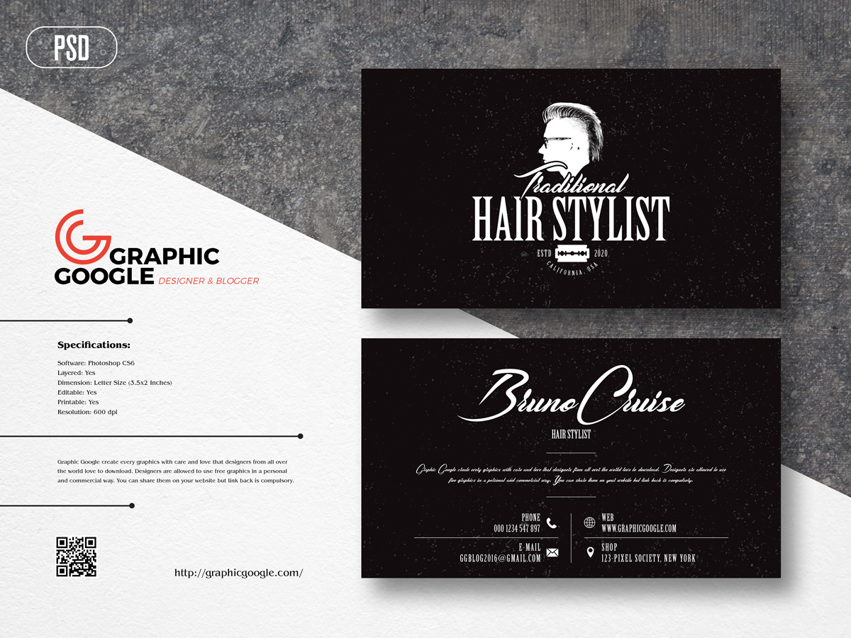 Free-Hair-Stylist-Business-Card-Design-Template