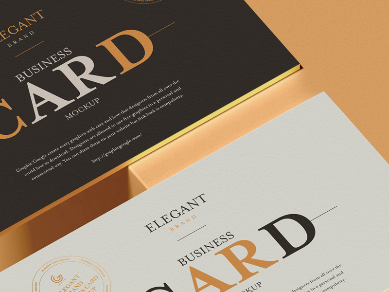 Free-Elegant-Brand-Business-Card-Mockup-1