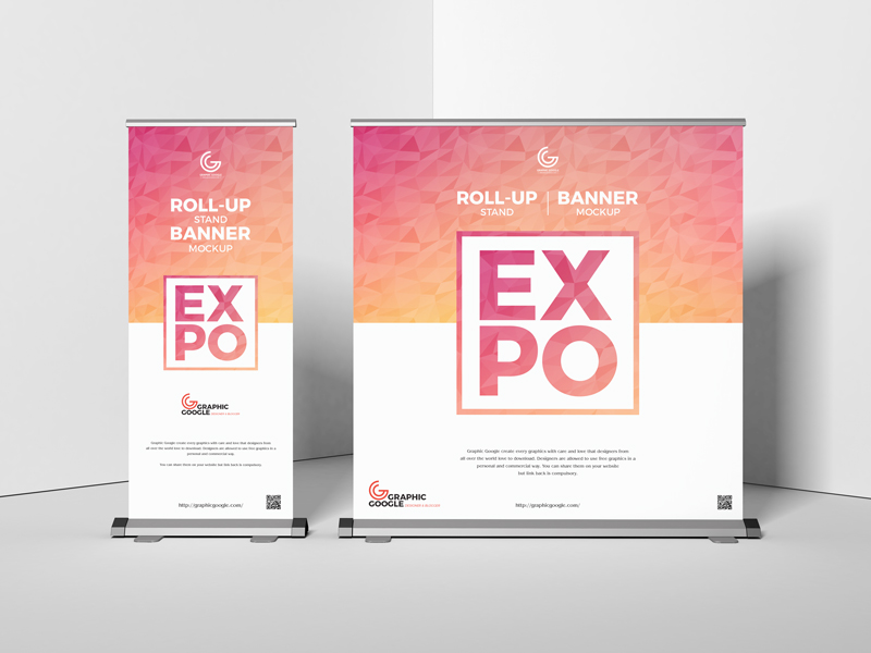 Free-Expo-Roll-Up-Stand-Banner-Mockup
