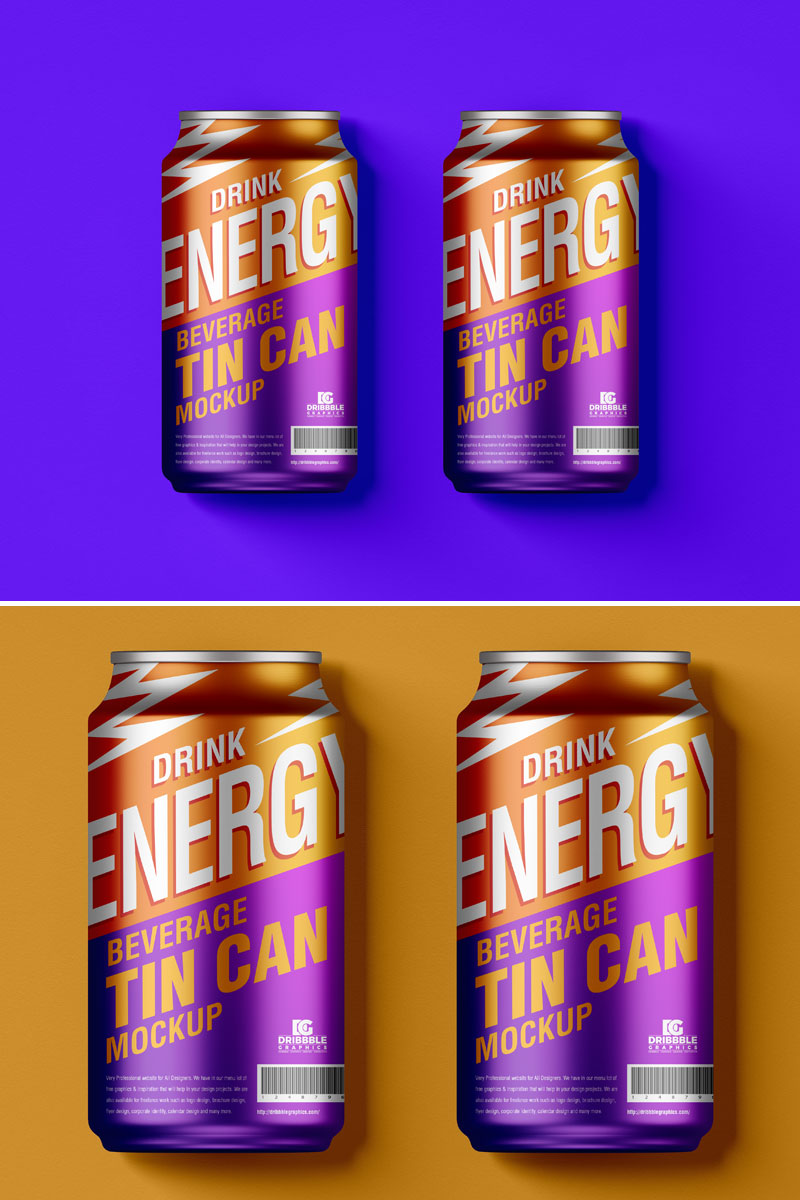 Free-Top-View-Cold-Drink-Tin-Can-Mockup