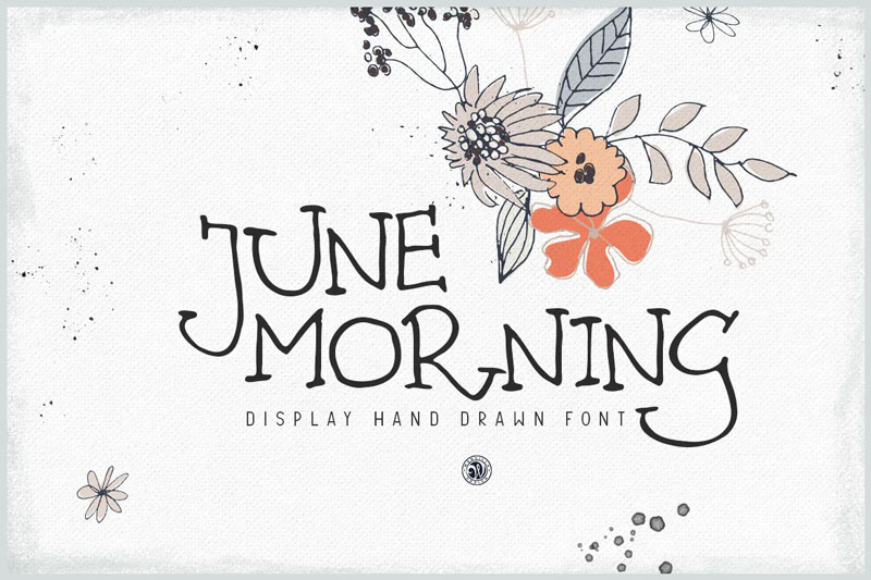 June-Morning-Hand-Drawn-Font