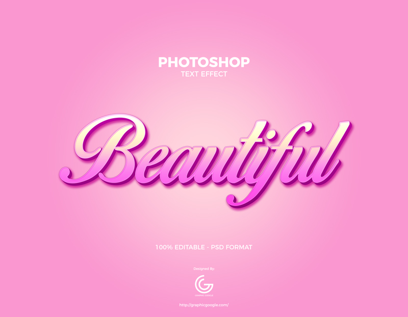 Free-Beautiful-Photoshop-Text-Effect