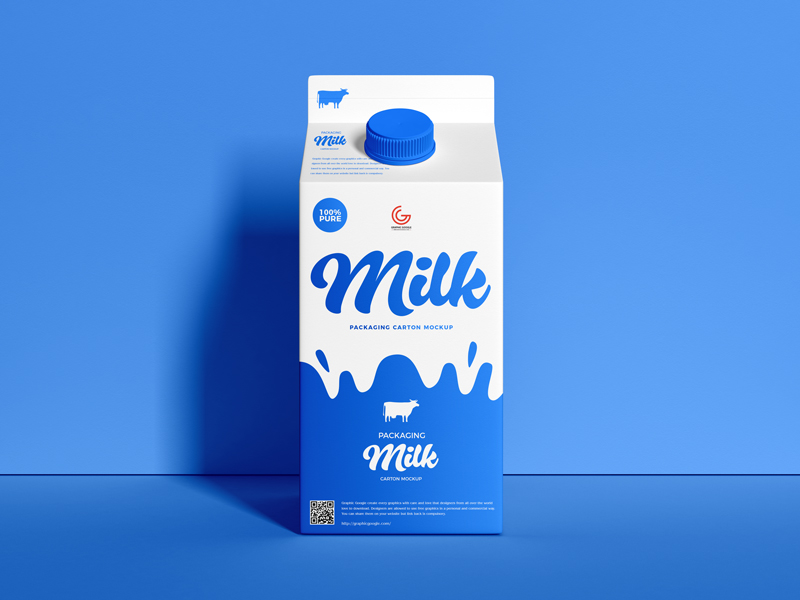 Free-Packaging-Milk-Carton-Mockup