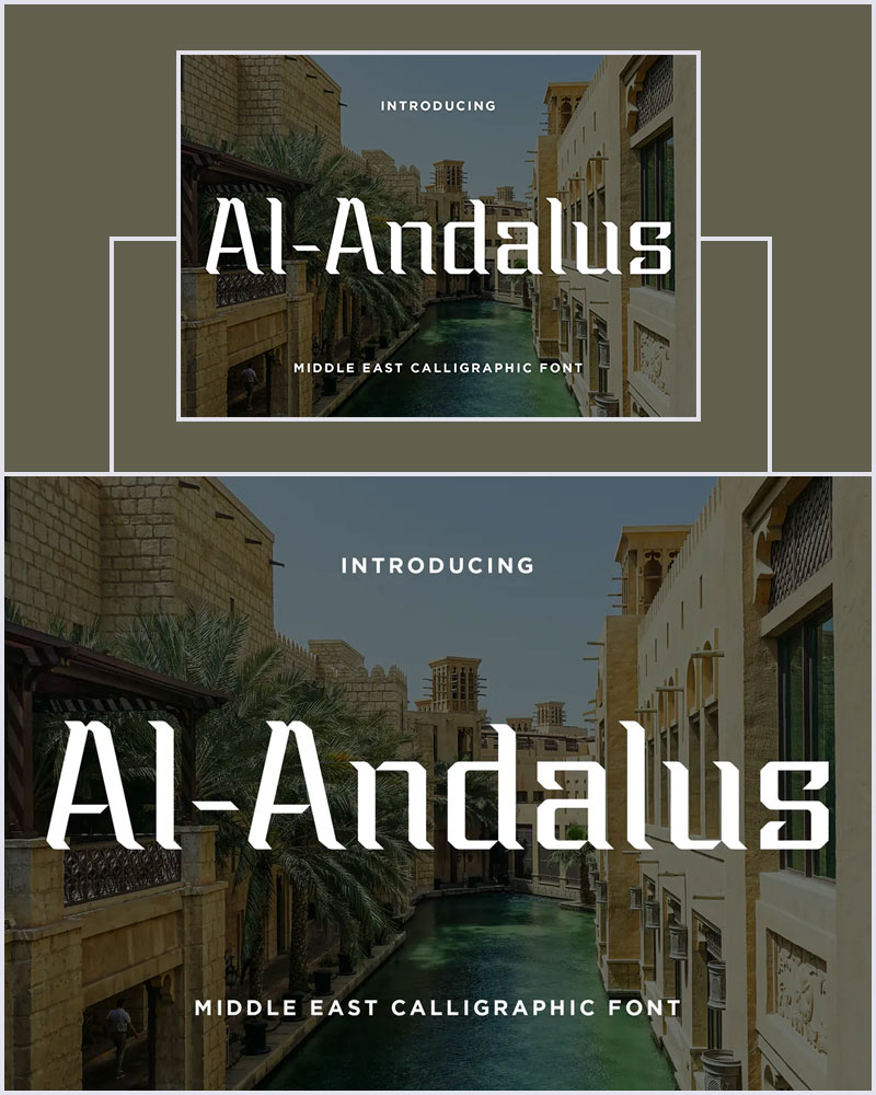 Al-Andalus-Modern-Middle-East-Calligraphic-Font