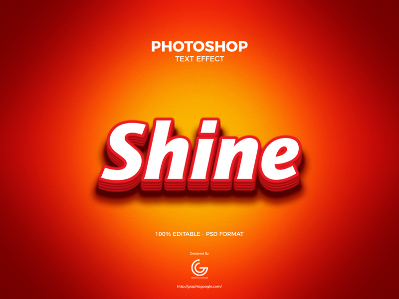 Free-Bright-Photoshop-Text-Effect-600