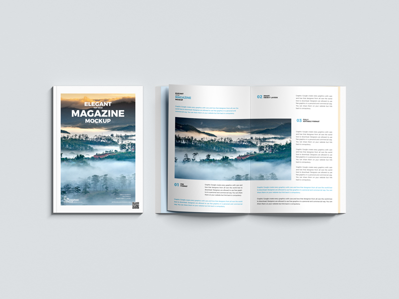 Free-Elegant-Top-View-Magazine-Mockup-1
