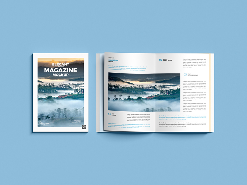 Free-Elegant-Top-View-Magazine-Mockup