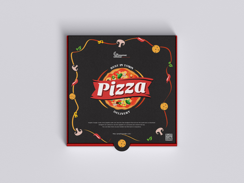 Free-Top-View-Packaging-Pizza-Mockup