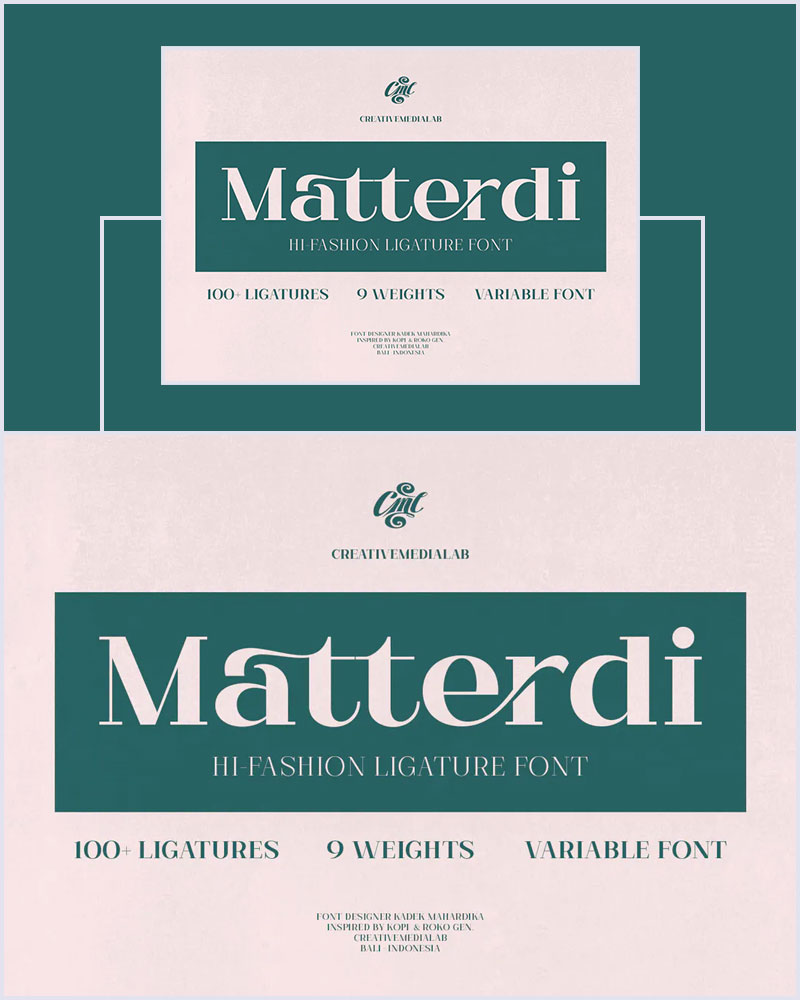Matterdi-Modern-Hi-Fashion-Ligature-Font