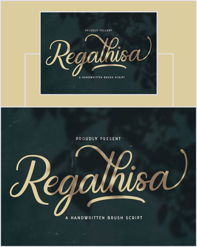 Regalhisa-Handwritten-Brush-Script