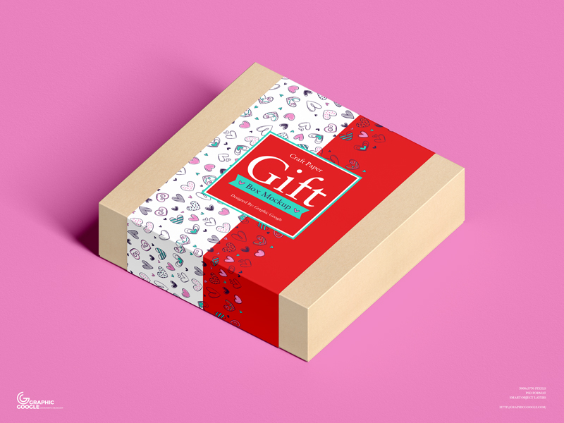 Free-Craft-Paper-Square-Gift-Box-Mockup-1
