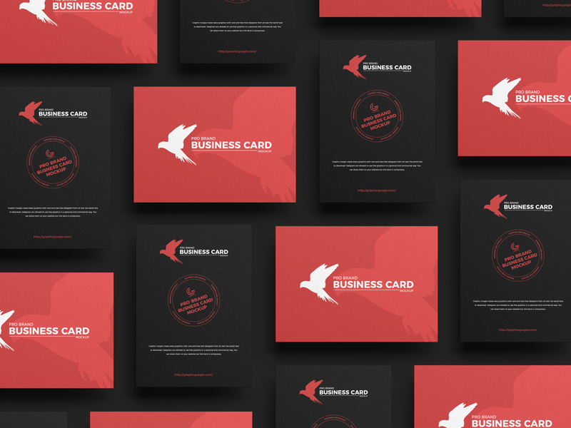 Free-Pro-Brand-Business-Card-Mockup