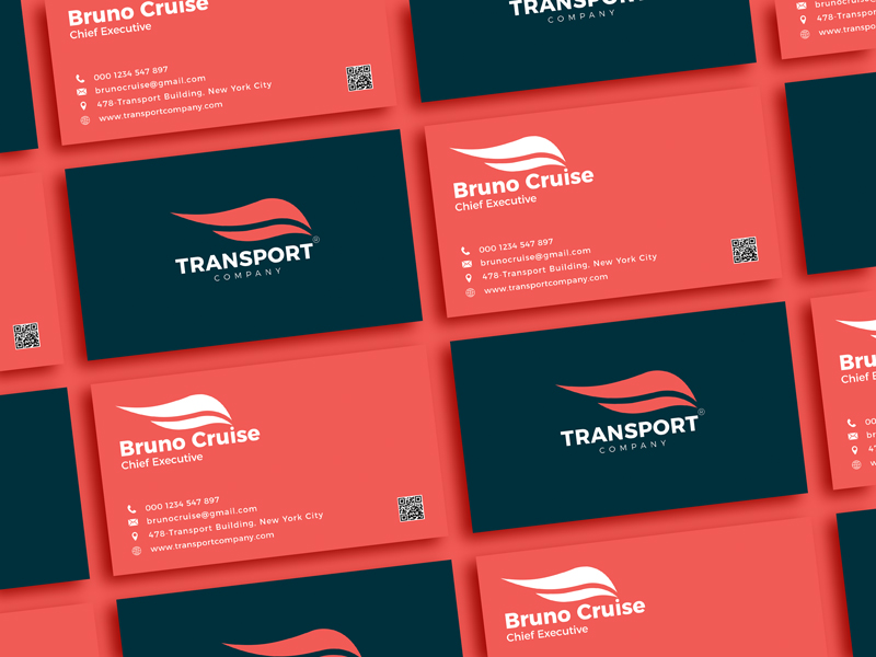 Free-Transport-Company-Business-Card-Design-Template-For-2021-600