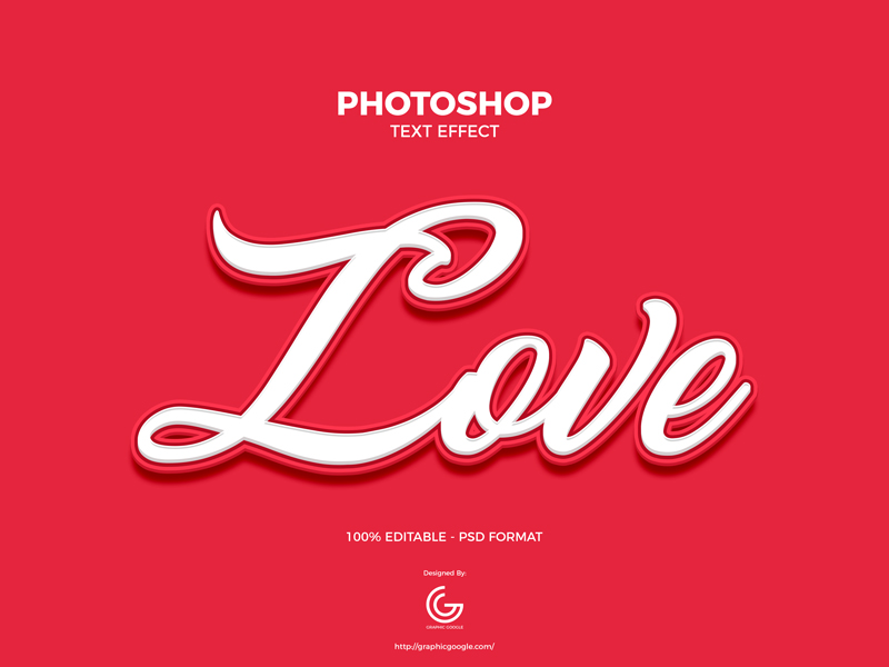 Free-Love-Photoshop-Text-Effect