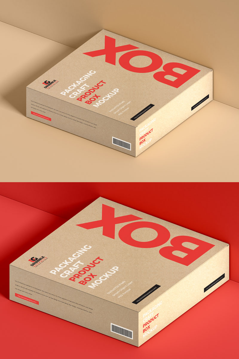 Free-Product-Packaging-Craft-Box-Mockup-PSD