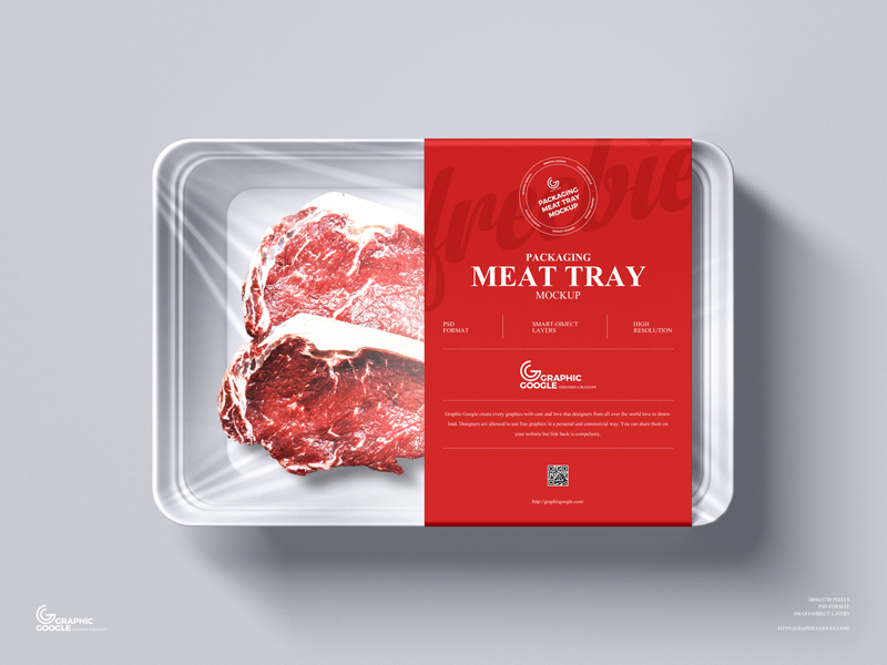 Free-Packaging-Meat-Tray-Mockup