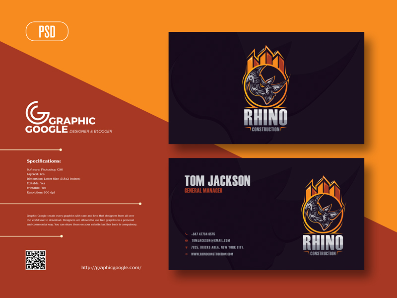 Free-Rhino-Construction-Business-Card-Design-Template-2021