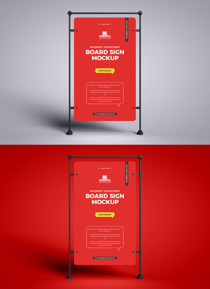 Free-Pavement-Advertising-Sign-Banner-Mockup-PSD-Design-Template