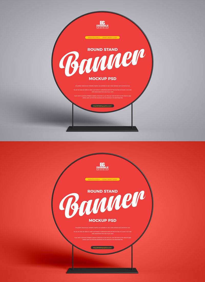 Free-Round-Stand-Banner-Mockup-PSD-Design-Template