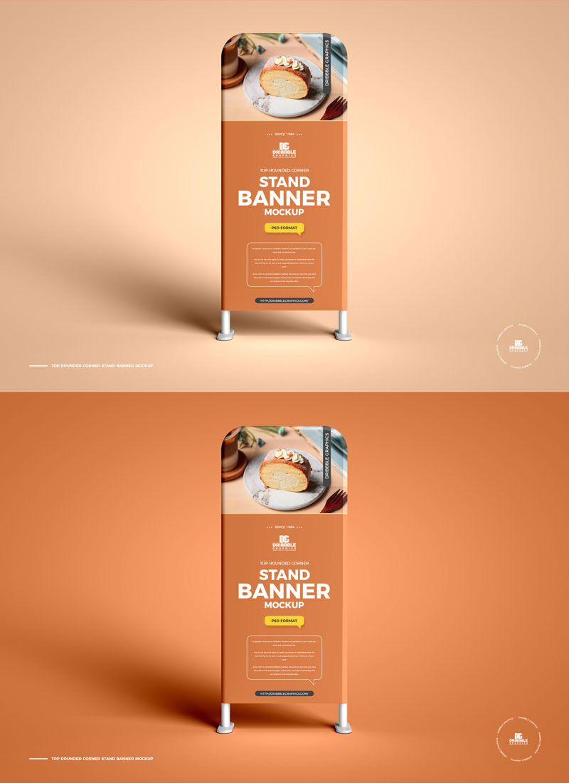 Free-Top-Rounded-Corner-Stand-Banner-Mockup-PSD-Design-Template
