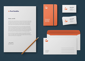 Free Business Corporate Identity Branding Mockup