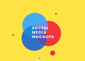 Free Facebook-Twitter and Youtube Social Media Mockups