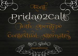 Free Prida Script Font