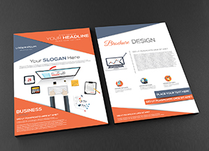 Free Front and Back A4 Brochure