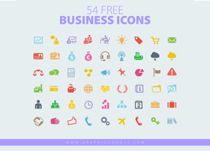 54 Free Business Icons