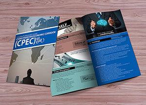 Bi-Fold Brochure Mock-up PSD For Graphic Designers