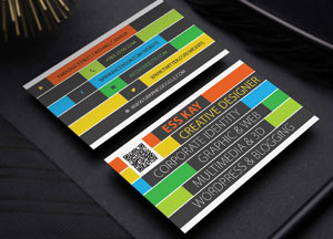 Free Creative Business Card Template Design Ai (Vector File)