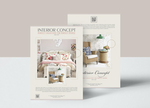 Free Interior Concept Flyer Design Templates