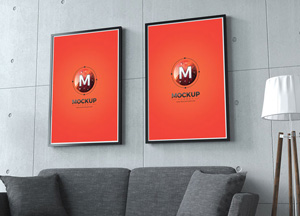 20 Free Beautiful Frame Mockups To Showcase Your Photos & Artworks