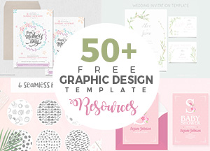 50+ Free Ai & PSD Graphic Design Template Resources For Graphic Designers
