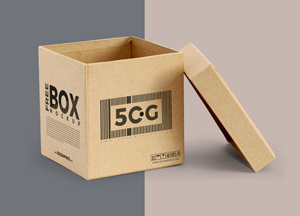 15 Free Box Packaging Mockup PSD Resources