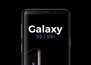 Free PSD Samsung Galaxy S9 | S9+ Mockup