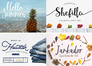 25 Best Free Stylish Fonts For Your Professional Design Projects