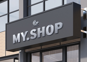 Free Shop Facade Mockup PSD 2018