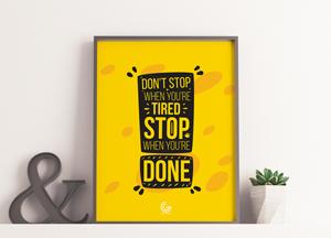 Free Elite Brand Poster Frame Mockup PSD 2018