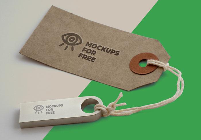 Free-Label-&-USB-Logo-Branding-Mockup-20