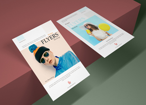 Free Prime Flyer Mockup PSD For Branding