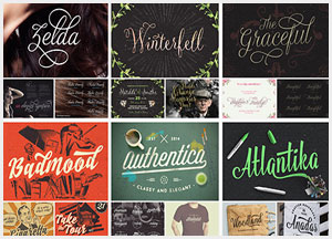 20 Gorgeous Script And Display Typefaces For 2019
