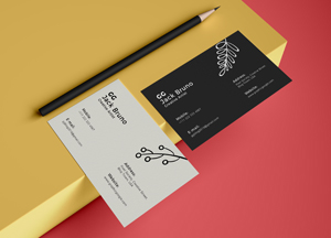 Free Brand Business Card Mockup PSD 2019
