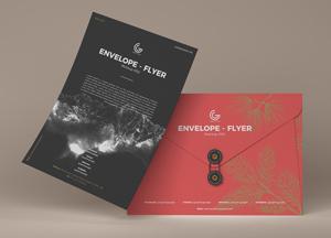 Free Envelope Flyer Mockup PSD 2019