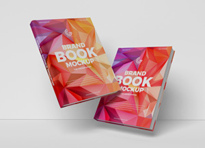 Free Brand Books Mockup PSD For Presentation 2019
